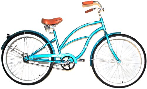 Airwalk 26-Inch Clipper Teal Cruiser Bicycle