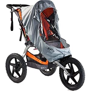 Bob Weather Shield for Single Sport Utility Stroller/Ironman Models, Gray