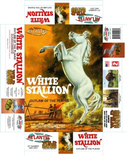 White Stallion Model Kit