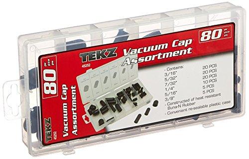 80 Piece Vacuum Cap Assortment (Rubber Caps compare prices)