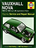 John S. Mead Vauxhall Nova Service and Repair Manual (Haynes Service and Repair Manuals)
