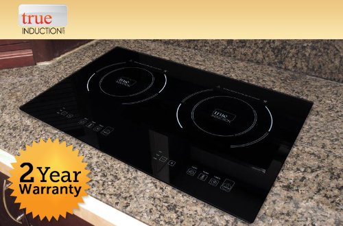 True Induction S2F3 Counter Inset Double Burner Induction Cooktop, 120V, Black (True Induction S2f3 compare prices)