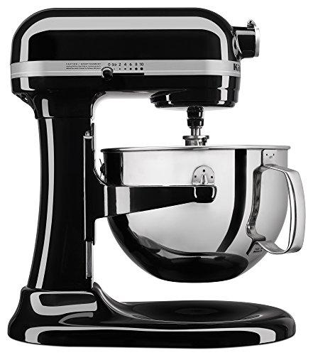 KitchenAid KL26M1XOB Professional 6-Qt. Bowl-Lift Stand Mixer - Onyx Black