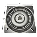7 Replacement Bar Stool Swivel Plate - Made in the USA - S4697 by chairpartsonline