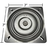 "7"" Replacement Bar Stool Swivel Plate - Made in the USA - S4697"