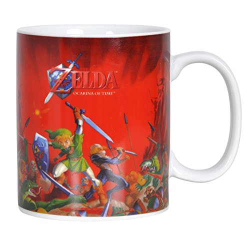 "Tazza ""The Legend Of Zelda Ocarina Of Time 3d"" Lotta"