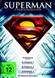 Superman - Die Spielfilm Collection (Superman / Superman 2 / Superman 3 / Superman 4 / Superman Returns) [5 DVDs]