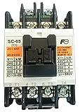 富士電機 標準形電磁開閉器 ケースカバー無 SW-03-200V-0.1KW-AC100V-1A
