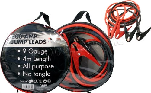 NEW HEAVY DUTY 800AMP CAR VAN JUMP LEADS 4 METRE LONG BOOSTER CABLES START