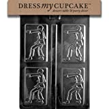 Dress My Cupcake Chocolate Candy Mold, Karate