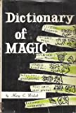 img - for Dictionary of Magic book / textbook / text book