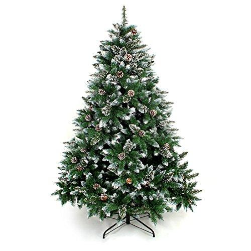 Albero-di-Natale-artificiale-con-supporto-Yorbay-120-cm-240-cm-per-Natale-decorazione