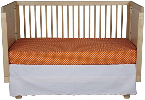 Oliver B 2-Piece Crib Bedding Set- Orange-Burst