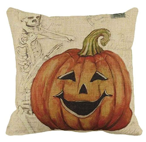 Halloween Pumpkin Pillow Cover