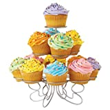 Wilton Cupcake 'n' More Stand, Holds 13, Silverby Wilton