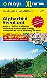 Alpbachtal - Seenland XL: Wander-, Rad- und Mountainbikekarte. GPS-genau. 1:25000