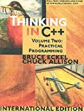 Thinking in C++: Practical Programming v. 2 (0131225529) by Eckel, Bruce