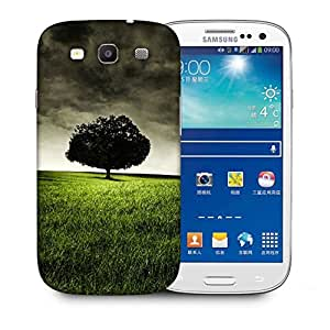 Snoogg Single Tree On Hill Designer Protective Back Case Cover For Samsung Galaxy S3