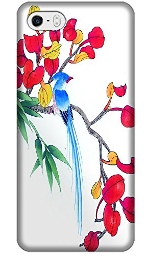Apple Accessories Chinese Wash Painting Flowers And Flowers Beautiful Special Design Cell Phone Cases For Iphone 4/4S No.11