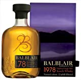 Balblair 1978 Vintage Highland Malt Whisky 70cl