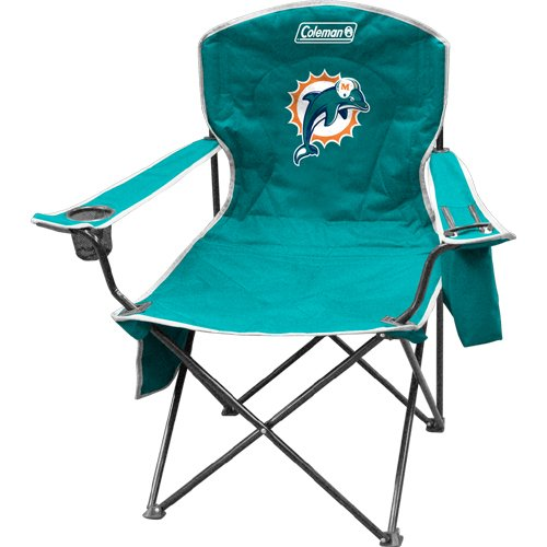 BSS - Miami Dolphins NFL Cooler Quad Tailgate Chair at Amazon.com