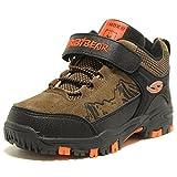 HOBIBEAR Boys Outdoor Hiking Shoes Kids Waterproof Athletic Sneakers