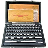 HFS (Tm) 81 PCS GRADE B GAGE GAUGE BLOCK SET ; NIST TRACEABLE CERTIFICATE