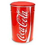 Hocker Mülleimer Coca Cola