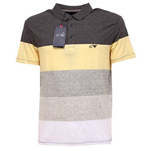 9212Q polo uomo ARMANI JEANS COMFORT maglia multicolor t-shirt men [S]
