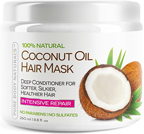 Top 10 Best 100% Organic Coconut Oil Shampoo 2016 & 2017 - Reviews - Magazine cover