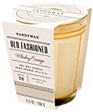 Paddywax Mixology Collection Poured Glass Candle, Old fashioned