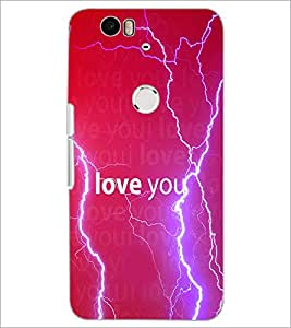 PrintDhaba Quote D-3458 Back Case Cover for HUAWEI NEXUS 6P (Multi-Coloured)