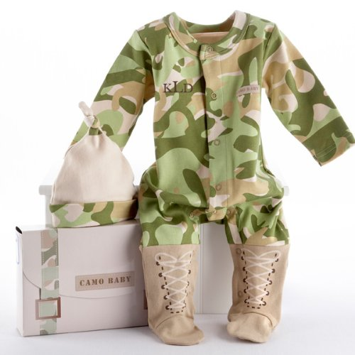 The Future Marine Army Theme Super Soft Baby Layette Set | Baby Shower Gift Idea