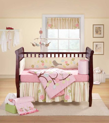 Bananafish Love Bird 4pc Crib Set