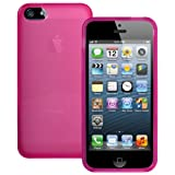 Pink XYLO-GEL Hydro Gloss Skin / Case / Cover for Apple iPhone 5 / 5s Mobile Phone