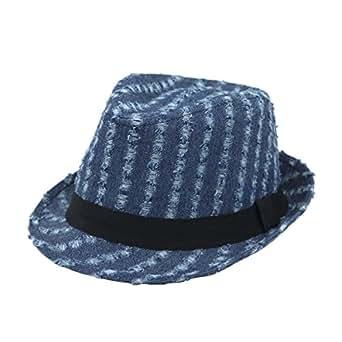 Royal Blue Mayfair Fashion Fedora - Denton Hats  |Blue Black Band Fedora