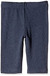 Fox Girls' Trousers  (Blue Melange_4 years_710207)