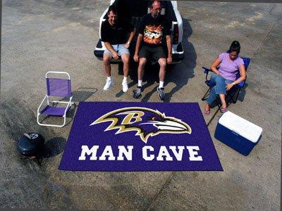 "Baltimore Ravens Man Cave UltiMat Rug 60""x96"" - FAN-14270"