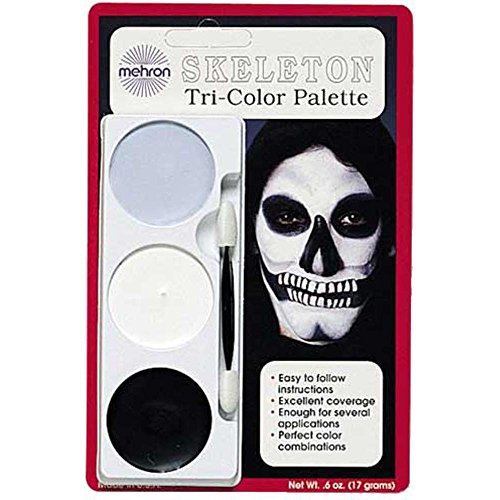 Skeleton Make Up Halloween Costume kit