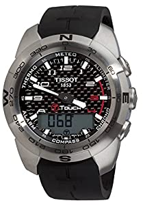 Tissot Men's T Touch Expert Black Dial Multi-Function