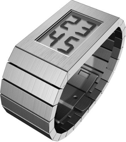 Rosendahl - 43283 - Montre Homme - Quartz - Digitale - Bracelet Acier Inoxydable Argent