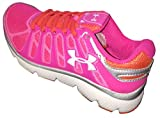 Unde Armour Girls Pre-School UA Pulse II Running Shoes chaos 4Y