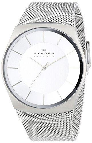 Skagen - SKW6067 - Montre Homme - Quartz Analogique - Bracelet Acier Inoxydable Argent