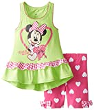 Disney Baby Girls'' 2 Piece Minnie Mouse Ruffle Bike Set