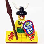 "おもちゃ Minifig ミニフィグPacks: Lego レゴ? pirates パイレーツ Bundle ""(1) MALE ISLANDER"" ""(1) FIGURE DISPLAY BASE"" ""(2) FIGURE ACCESSORIES"" [並行輸入品]"