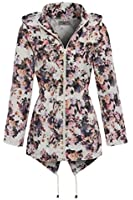 SS7 Women's Floral Raincoat, Sizes 8 to 16