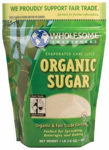 Wholesome Sweeteners Fair Trade Organic Sugar at Amazon.com