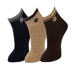 Crux&hunter 3 Pair ankle sports socks