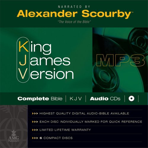KJV Scourby Complete Bible Audio MP3 CDS