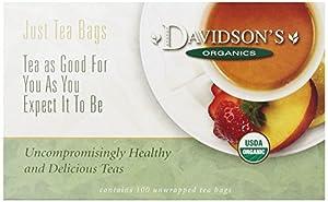 Davidson's Tea Orange Spice, 100-Count Tea Bags